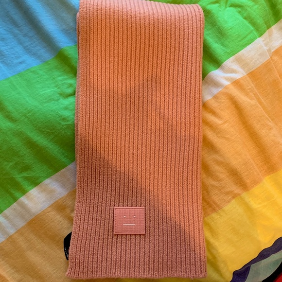 Acne Studio Bansy S Face scarf
